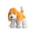 Плюшено кученце в два цвята
