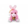 Плюшено розово зайче